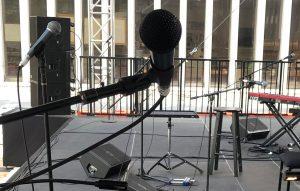 Mics on Stage @ LCPA by Brandon Garcia